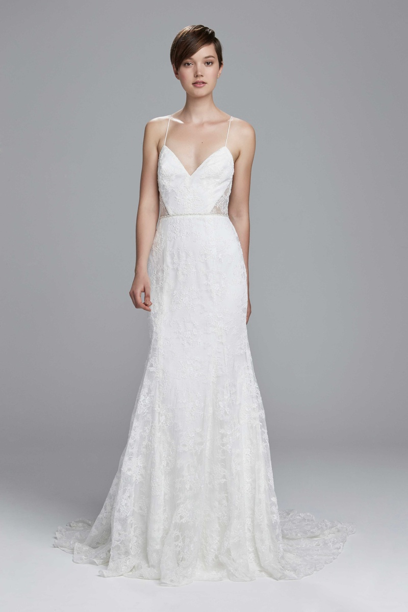 Light and Airy Wedding Dresses from Christos Spring 2017 - Inside ...
