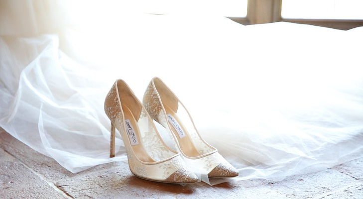 jimmy choo bridal shoes pointed toe, sheer lace