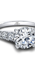 (ring 0.72 ttl) Say it LOUDER with Diamonds. Our Taffy Engagement Ring is a larger version of our Tr