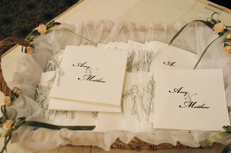 invitations more photos basket of wedding programs inside weddings