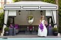 Bride at Viceroy Santa Monica pool cabana