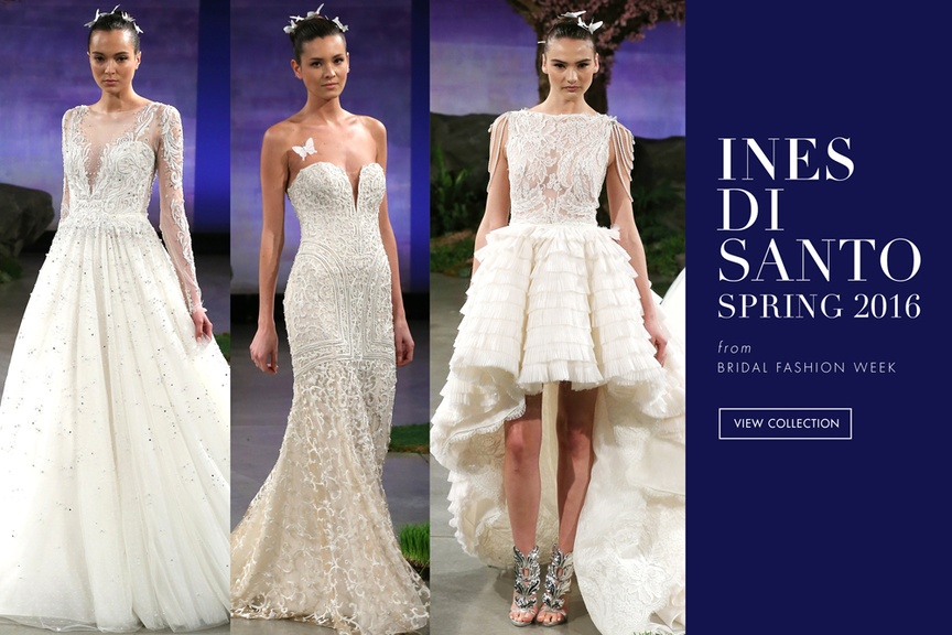 Wedding dresses from the Ines Di Santo spring/summer collection