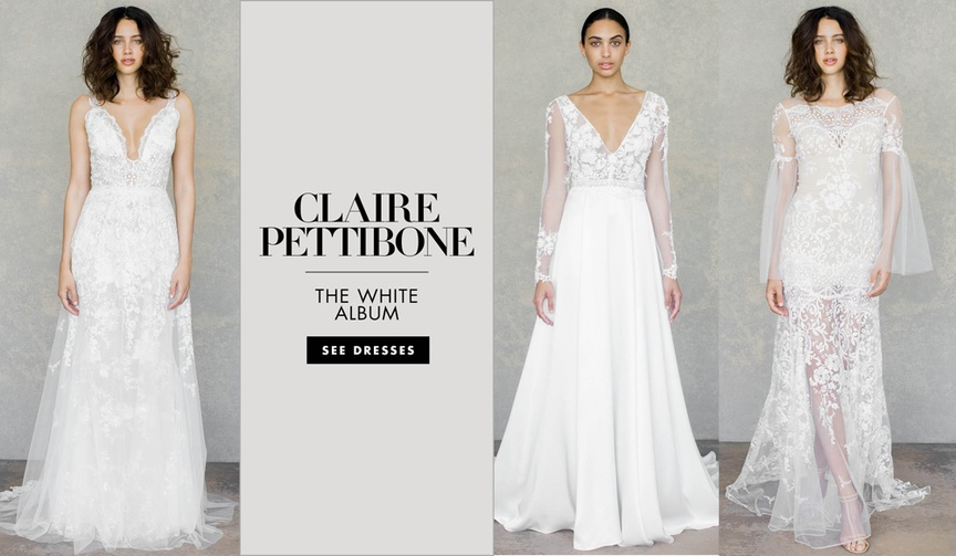Claire Pettibone wedding dresses spring 2019 The White Album couture and Romantique wedding dresses