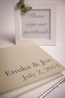 Enuka Okuma and Joe Gasparik's wedding guestbook