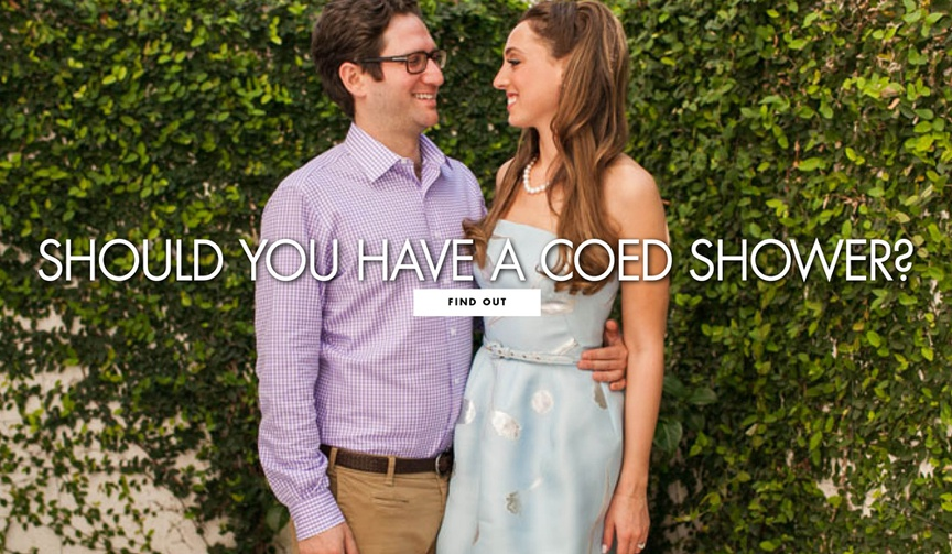 Should you have a coed wedding shower bridal shower ideas