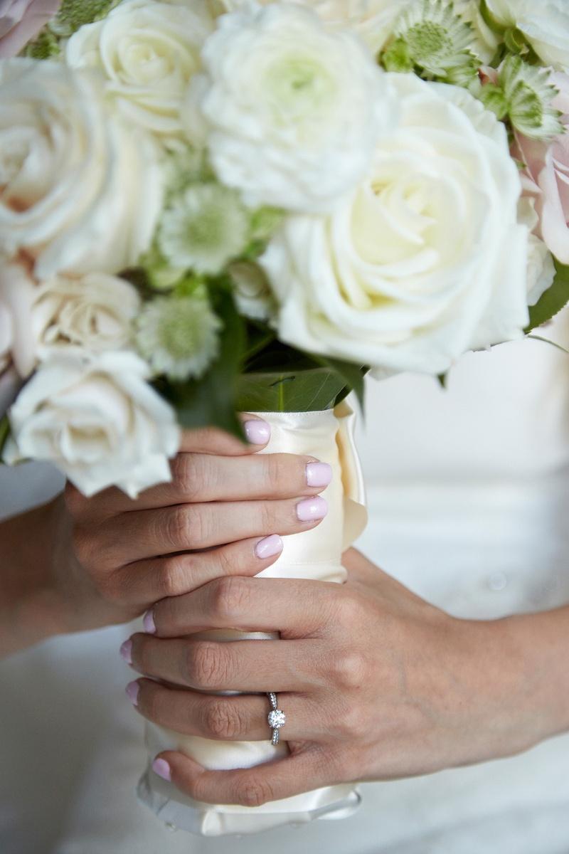 Beauty Photos Baby Pink Bridal Nails Inside Weddings