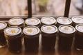 Green Tea from Taiwan in custom mason jars