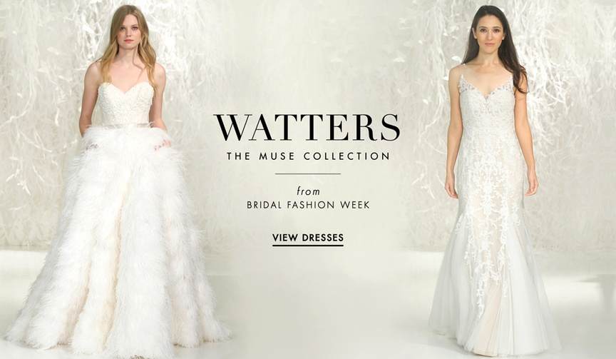 Watters 2016 wedding dresses in The Muse Collection