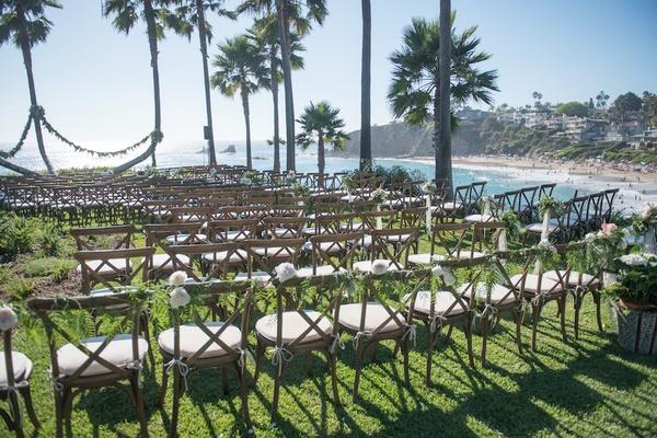 Vintage Beach Wedding Ceremony: An Oceanfront Vintage-Inspired Wedding In Laguna Beach