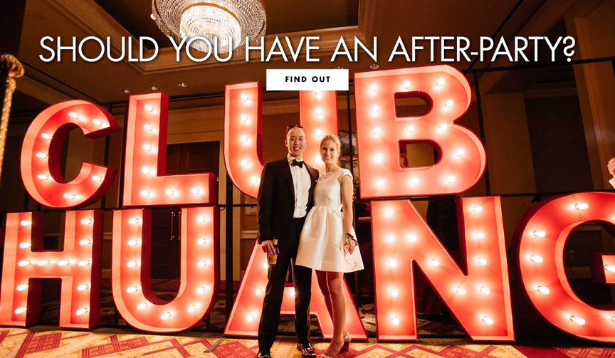 does your wedding need an after-party, why to have an after-party for your wedding