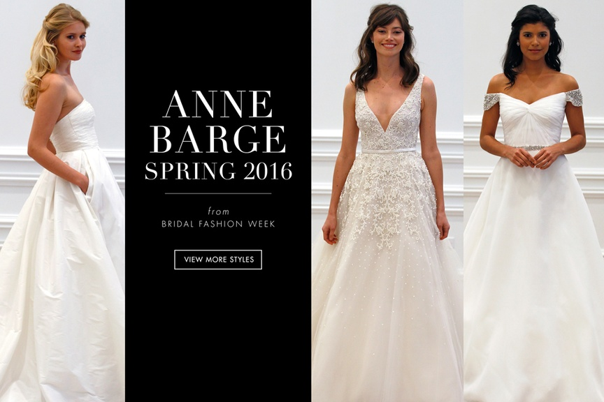 Anne Barge 2016 Wedding Dresses