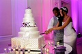 Porsha Williams and Kordell Stewart cut cake