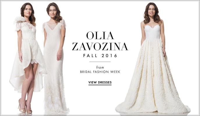 Wedding Gowns 2016: Wedding Dresses: Olia Zavozina Fall 2016 Bridal Collection
