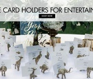 Cute escort card holders for entertaining parties events shop cute table card holders