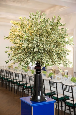 southern-inspired wedding, tree-like wedding décor