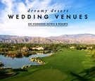 Starwood Hotels and Resorts desert wedding venues