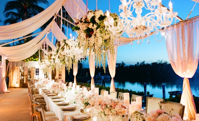 A Gorgeous and Elegant Outdoor Florida Wedding - Inside ...