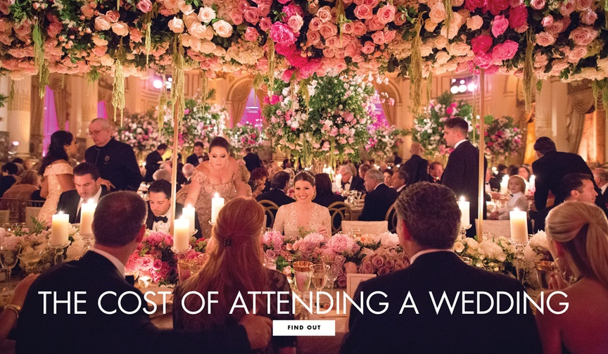 how much it costs to go to a wedding, wedding guest expenses
