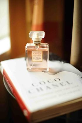 Chanel eau de parfum on Coco Chanel autobiography