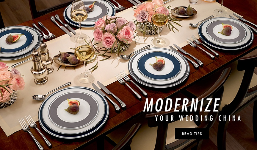 Dean Driver of Consillium Lifestyle Collections modern table advice