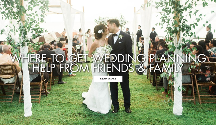 Where to get wedding planning help from friends and family to do list checklist