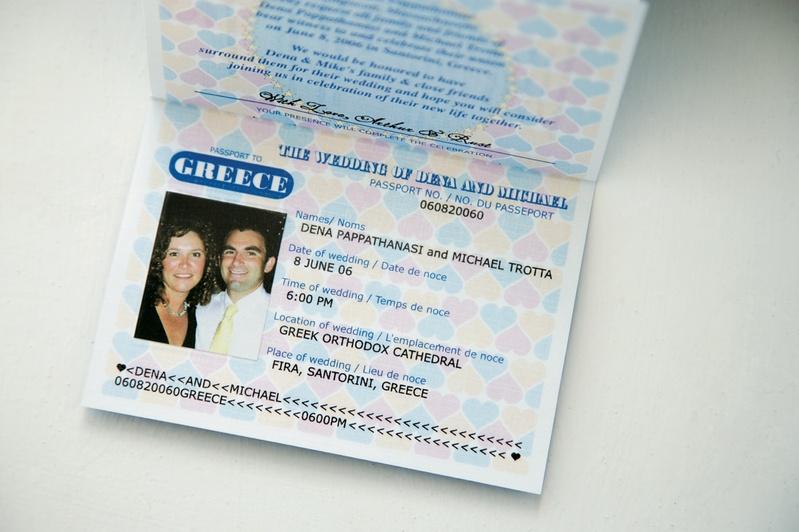 Cute and custom destination wedding invites