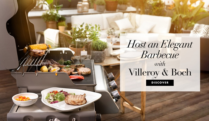 Fourth of July party and registry items for an elegant barbecue BBQ
