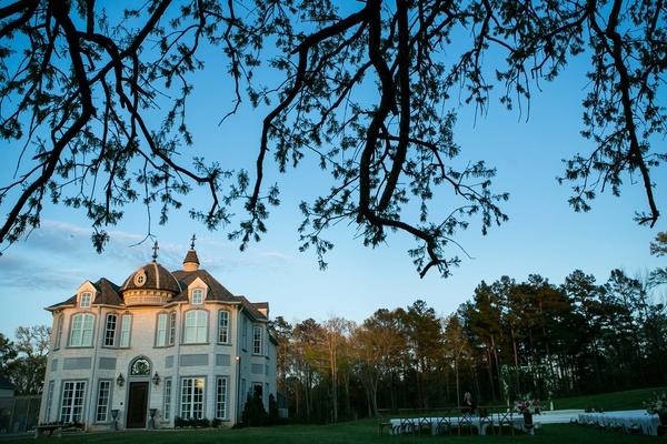 Villa Bianco in Tyler, Texas wedding ceremony