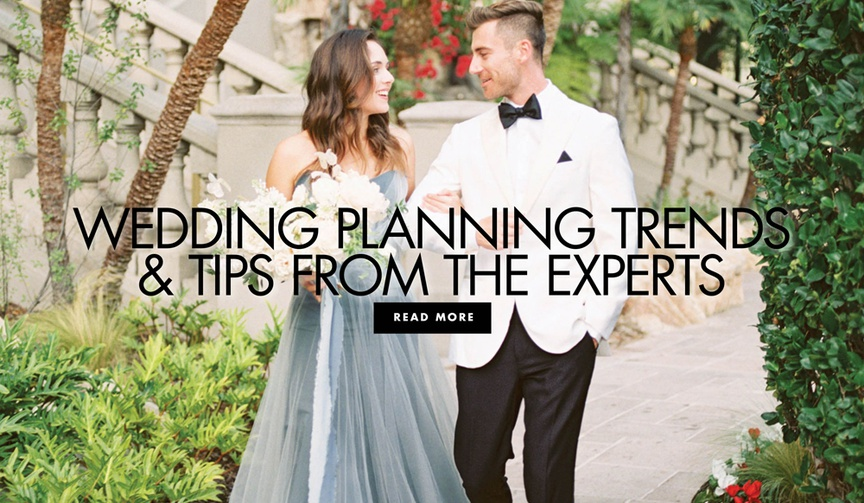 wedding planning trends and tips from expert wedding professionals