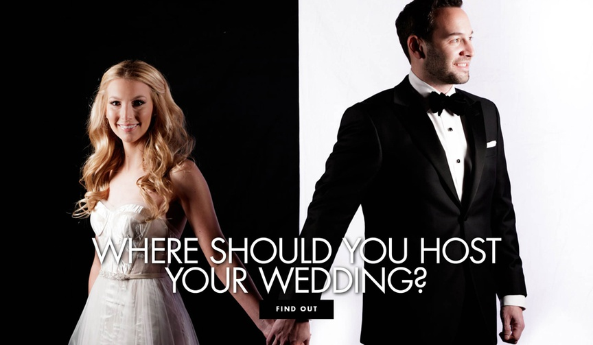 Where should you host your wedding