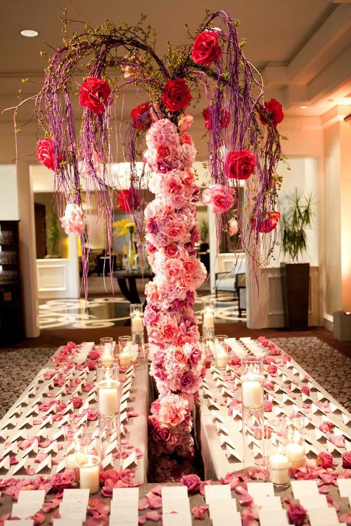 Floral Themed Southern California Wedding Inside Weddings