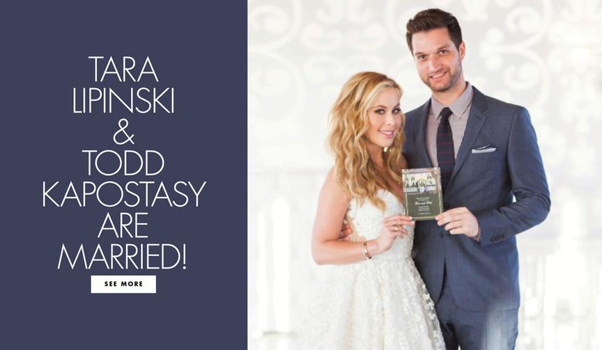 tara lipinski todd kapostasy southern wedding