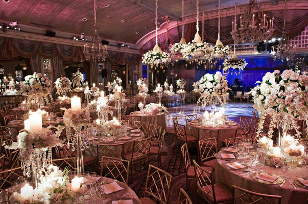 The Pierre New York dance floor and tables
