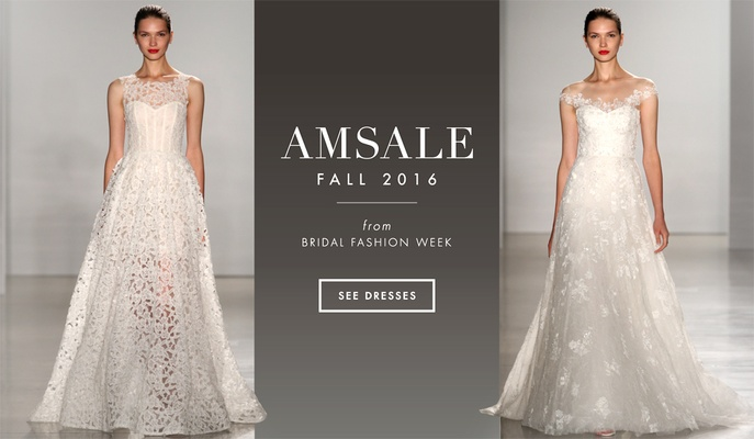 Wedding Gowns 2016: Wedding Dresses: Amsale Fall 2016 Bridal Collection