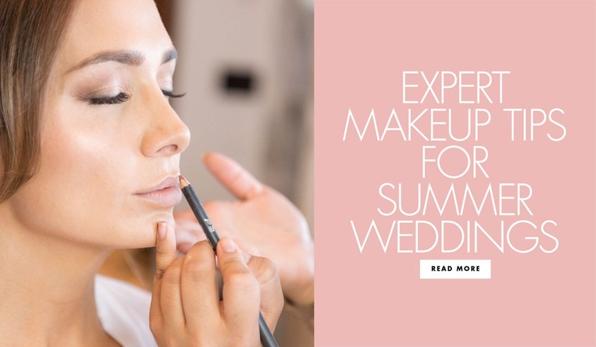 Expert makeup tips for summer weddings from Hourglass Cosmetics