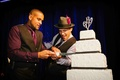 Insanity creator Shaun T cuts wedding cake with husband