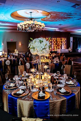 Staged Grand Ballroom