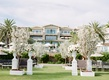 Montage Laguna Beach lawn wedding ceremony