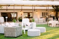 silver ivory lounge furniture lawn faux wedding party styled shoot rustic event sofas chairs tables