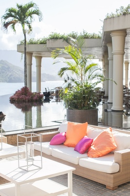 St. Regis Princeville Resort relaxation terrace