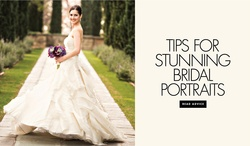 Tips for stunning bridal portraits from a wedding photographer Laurie Bailey