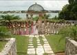 Tropical Bahamas bridesmaids and groomsmen