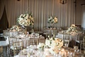 blush linens, gold chiavari chairs, bel air bay club wedding