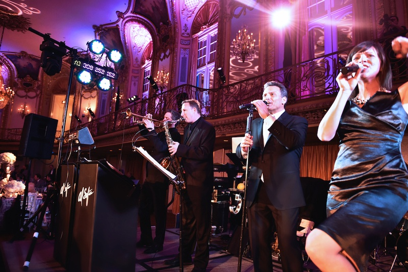 Entertainment Photos Band Performs At Chicago Wedding Reception
