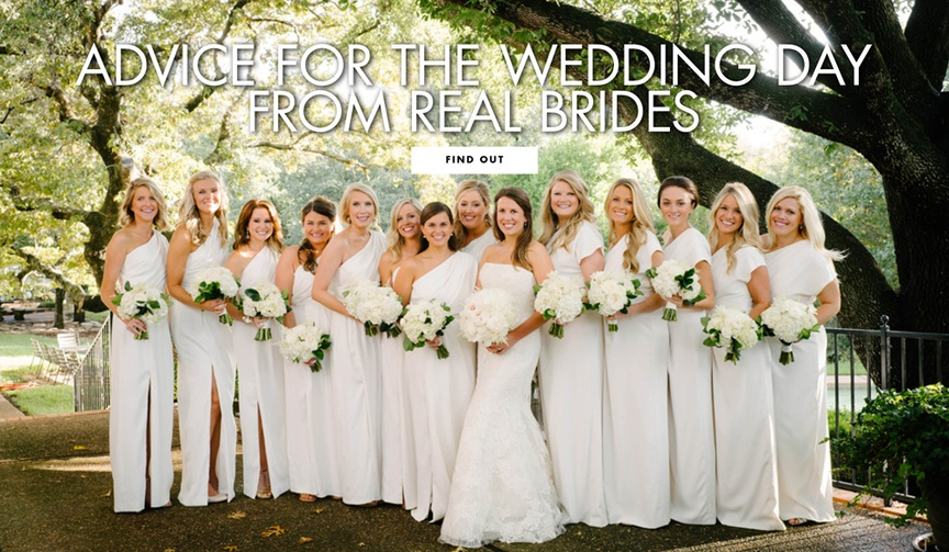 Get wedding planning advice from real brides!