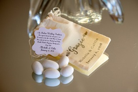 traditional jordan almond wedding favors for italian heritage