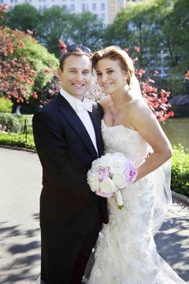 Food Network restauranteur Donatella Arpaia and husband