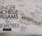 Singer Michelle Williams of Destiny's Child is engaged to Chad Johnson.