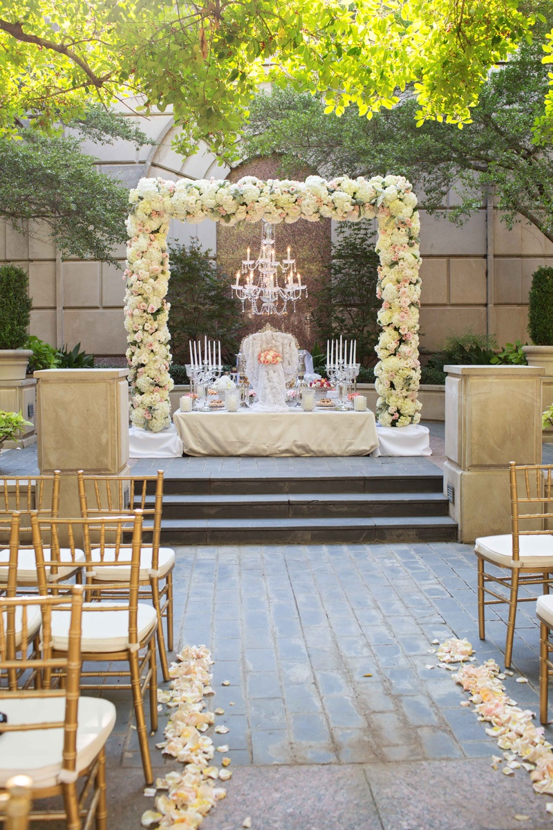 Persian American Ceremony With Light Hued Reception In Dallas