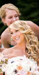 Candid Bride & Bridesmaids